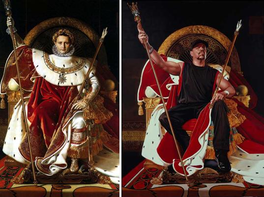 Old Baroque Paintings Masters