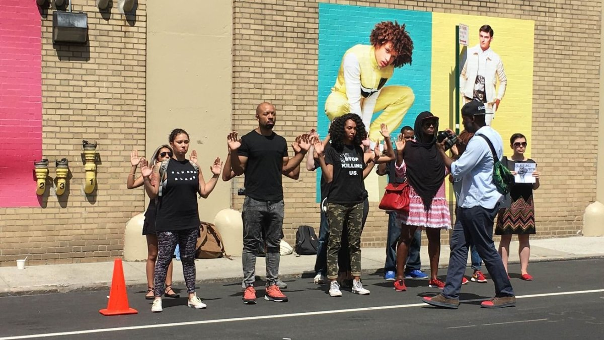 Black Lives Matter New York Fashion Week