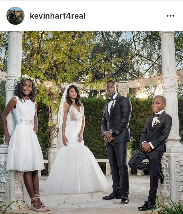 Kevin Hart gets married