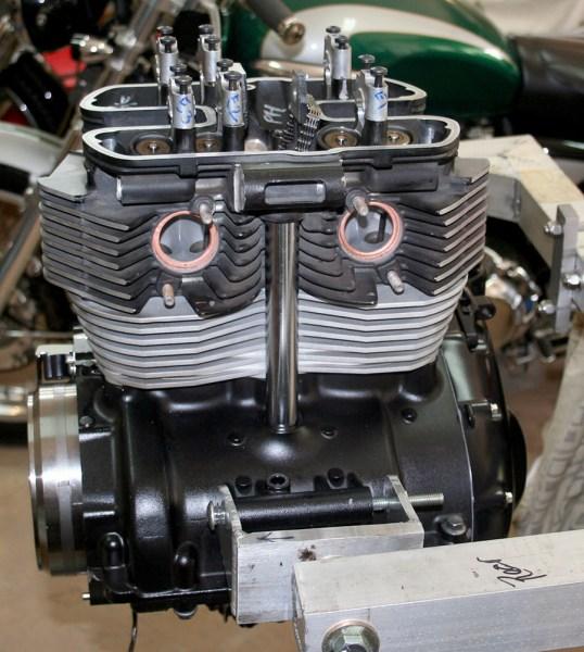 taking a triumph bonneville 865cc engine to 1100cc | triumph
