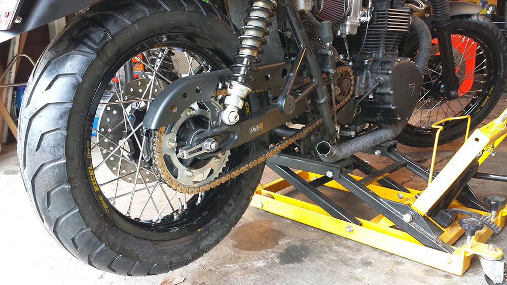 2008 Triumph Bonneville Wheel and Hub Upgrade Options