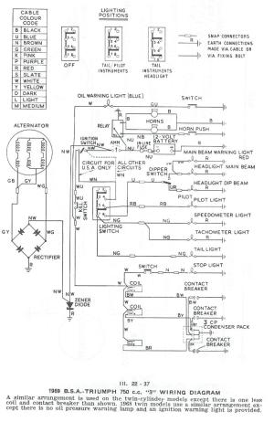Triumph Tr4a Wiring Diagram  Wiring Diagram Pictures