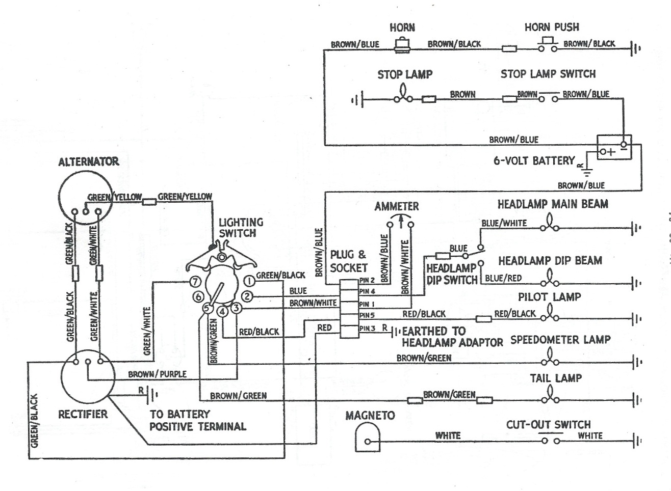 Bourget Wiring Diagram Schematic Electronic 420a Eclipse Alternator Bsa B44 Diagramsrhbesodiaddonsco At