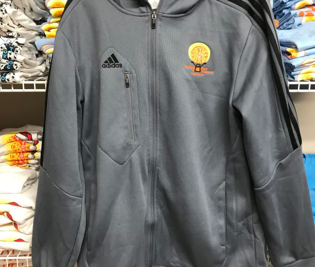 Tokc Gray Youth Adidas Hoodie