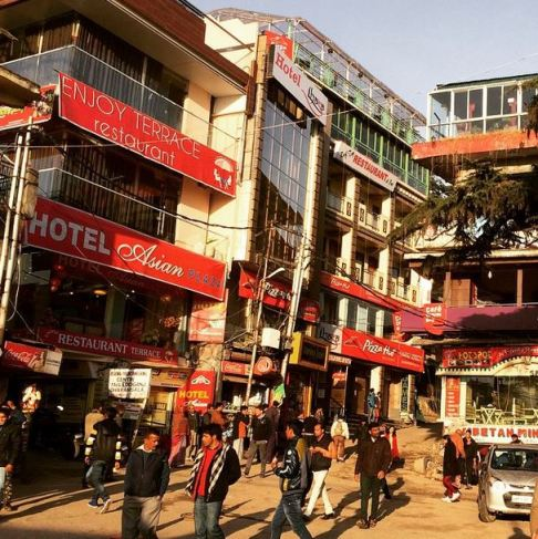 McLeod Ganj Main Square