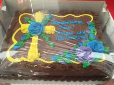 Thank you Oracle for the chocolate cake!