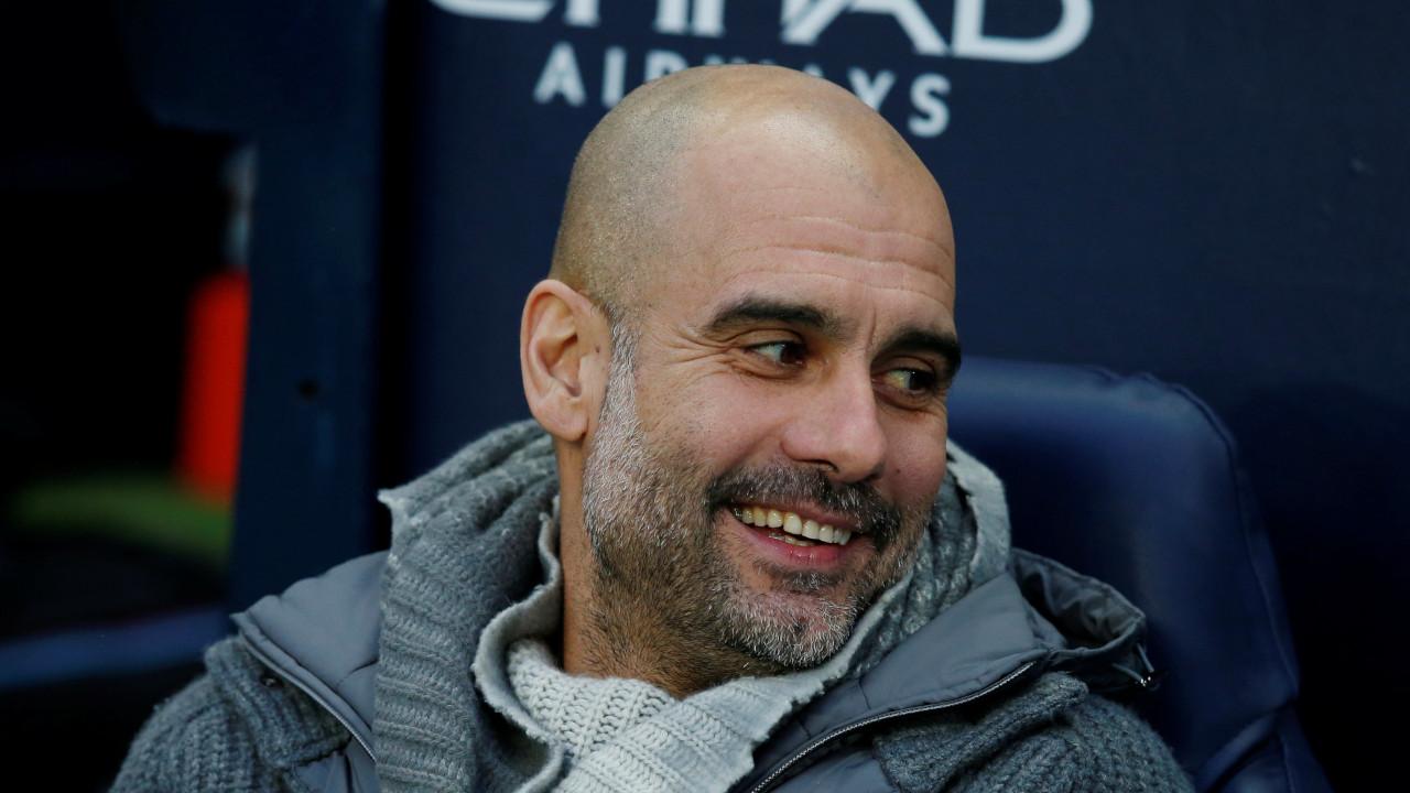 """Guardiola sobre razões para vencer: """"Bons times. Sou bom técnico, faço meu  melhor, mas eu não jogo"""""""