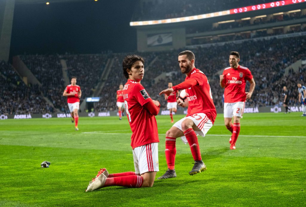 João Félix à Benfica face au FC Porto