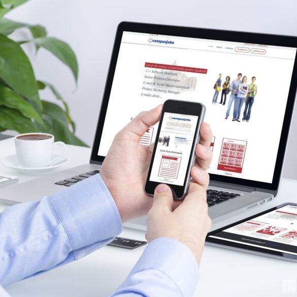 Web Design Bucuresti - Campus Jobs (campusjobs.ro)