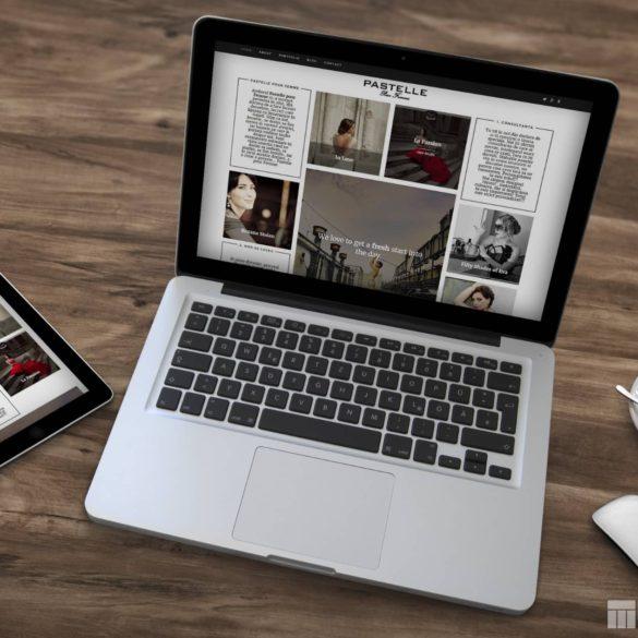 Web Design Bucuresti - Pastelle pour Femme (pastellepourfemme.ro)