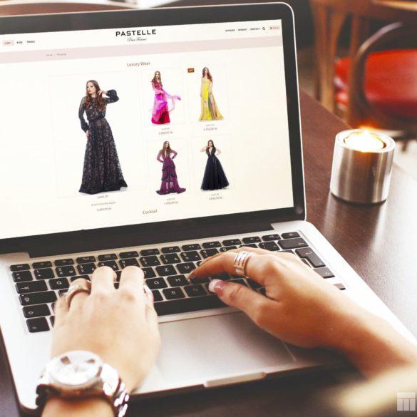 Web Design Bucuresti - Pastelle pour Femme (pastellepourfemme.com)