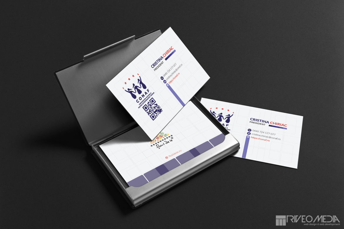Web Design Bucuresti - CONAF Business Card