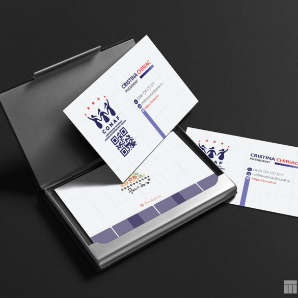 Web Design Bucuresti - CONAF Business Card