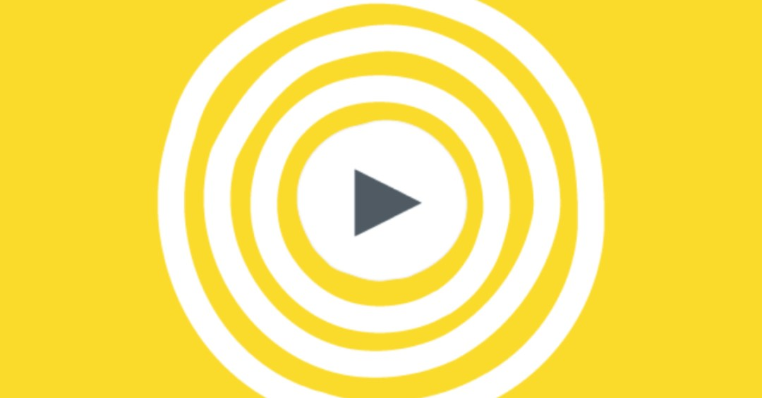 Yellow bullseye with triangle