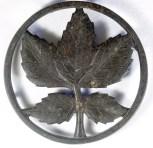"Ober Large Leaf: 6 1/8"" diameter, CI"