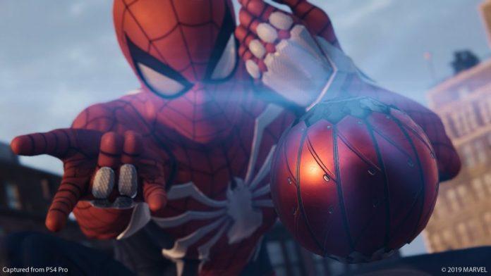 Bomba de teia é atirada pelo herói (Foto: PlayStation Blog)