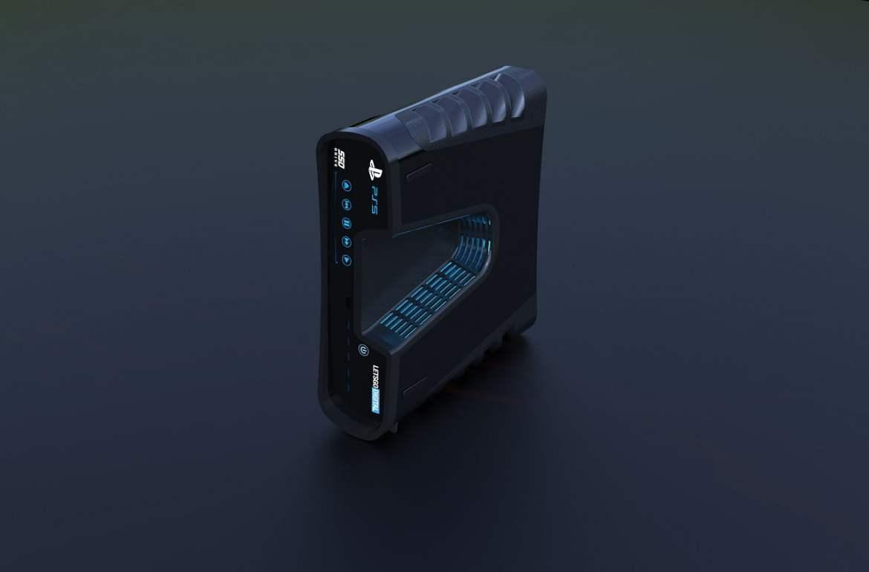 """Dev Kit do """"PS5"""" ganha vida com renderização em 3D 1"""