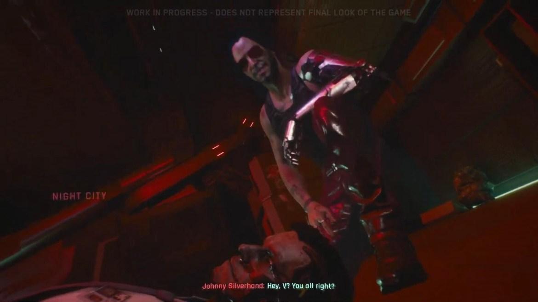 """Reações: Keanu Reeves não está tão """"breathtaking"""" assim em Cyberpunk 2077 3"""