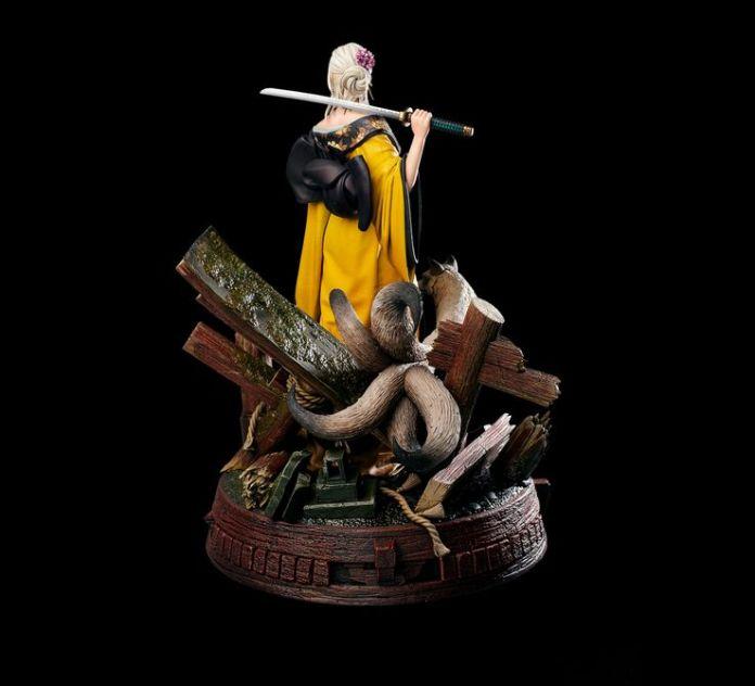 The Witcher: CD Projekt RED revela estatueta de Ciri usando um kimono 3