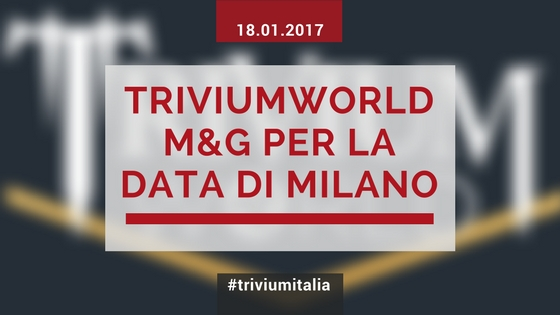 Disponibile M&G per la data di Milano