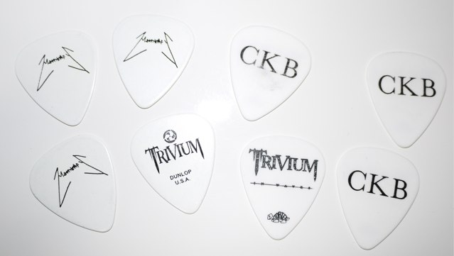 Trivium Japan ピックプレゼント2013