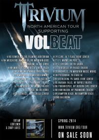 Volbeat / Trivium 2014
