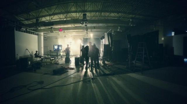 No Way To Heal video shoot