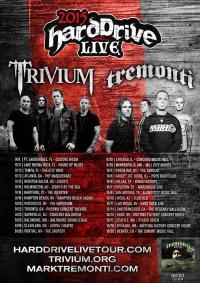 Trivium & Tremonti: Harddrive Live Tour 2015