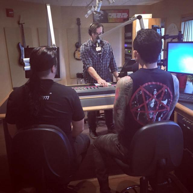Matt and Corey are live on Orlando's 101.1 WJRR - The Rock Station