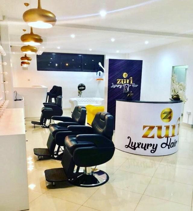 Zuri Luxury Hair Bar à Kinshasa, RDCongo, une expérience pour les femmes.