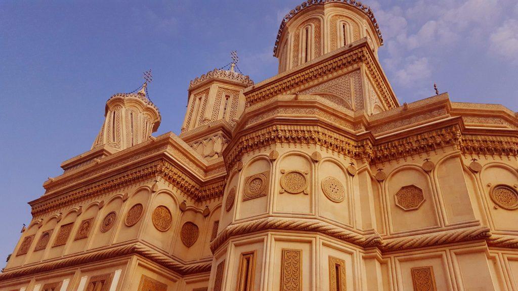 Manastirea Argesului - vedere laterala