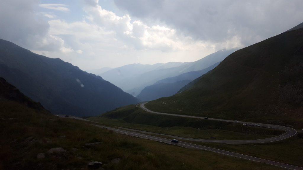 Vedere panoramica DN7c - Transfagarasan