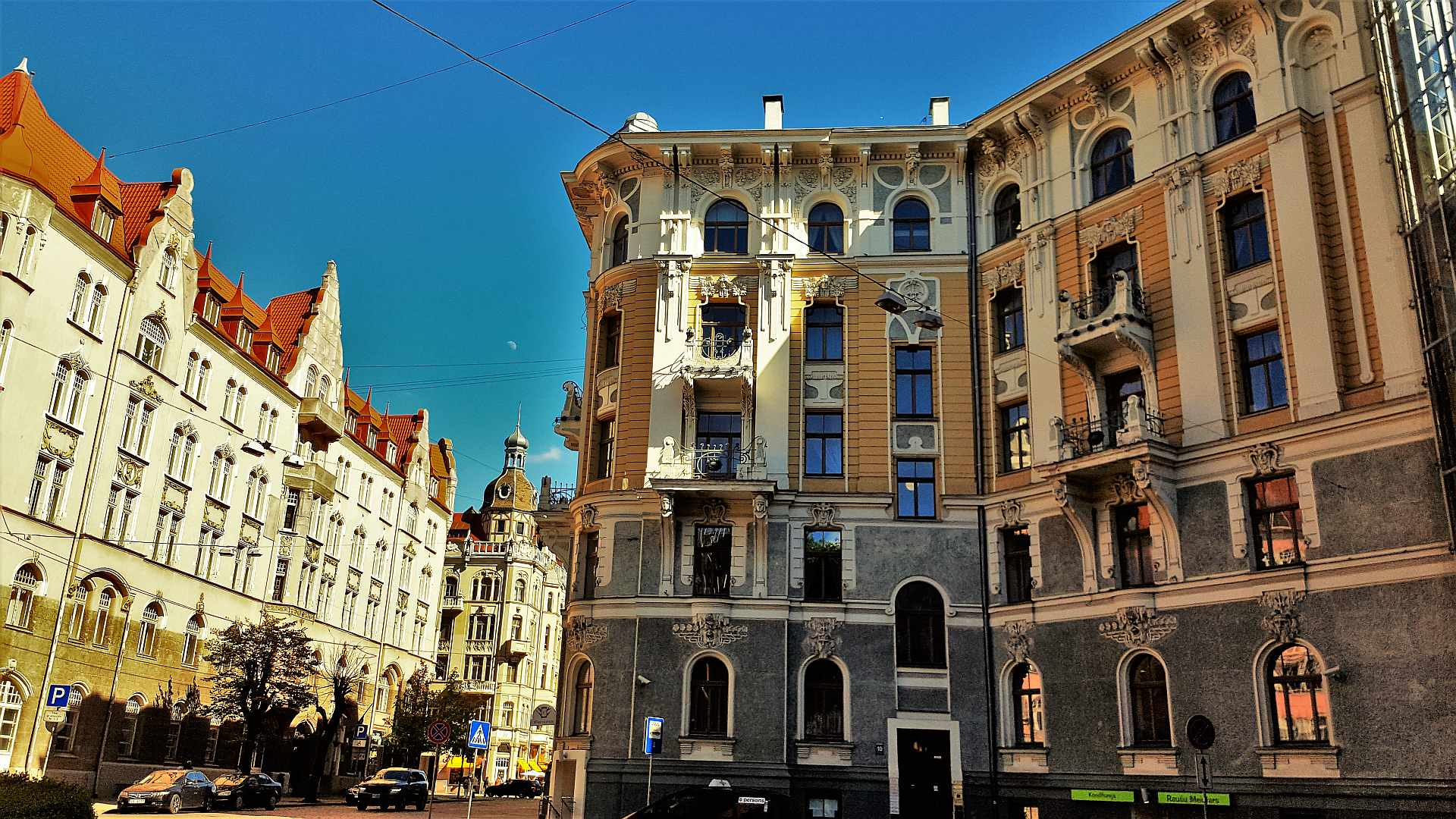 ART Nouveau buildings Riga -TRIVO.RO