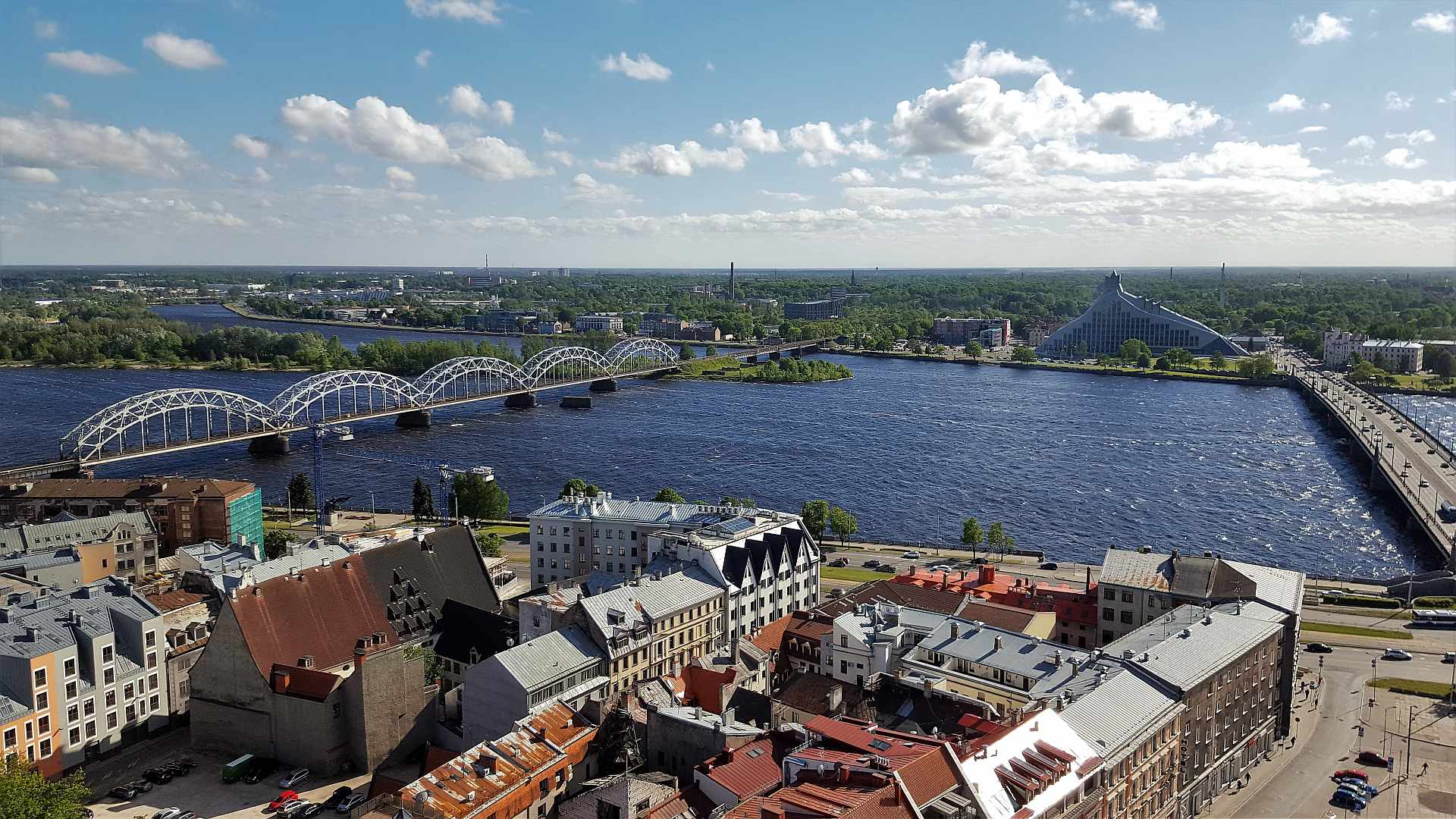 Viewpoint from Saint Peter's Church - Riga - trivo.ro (2)