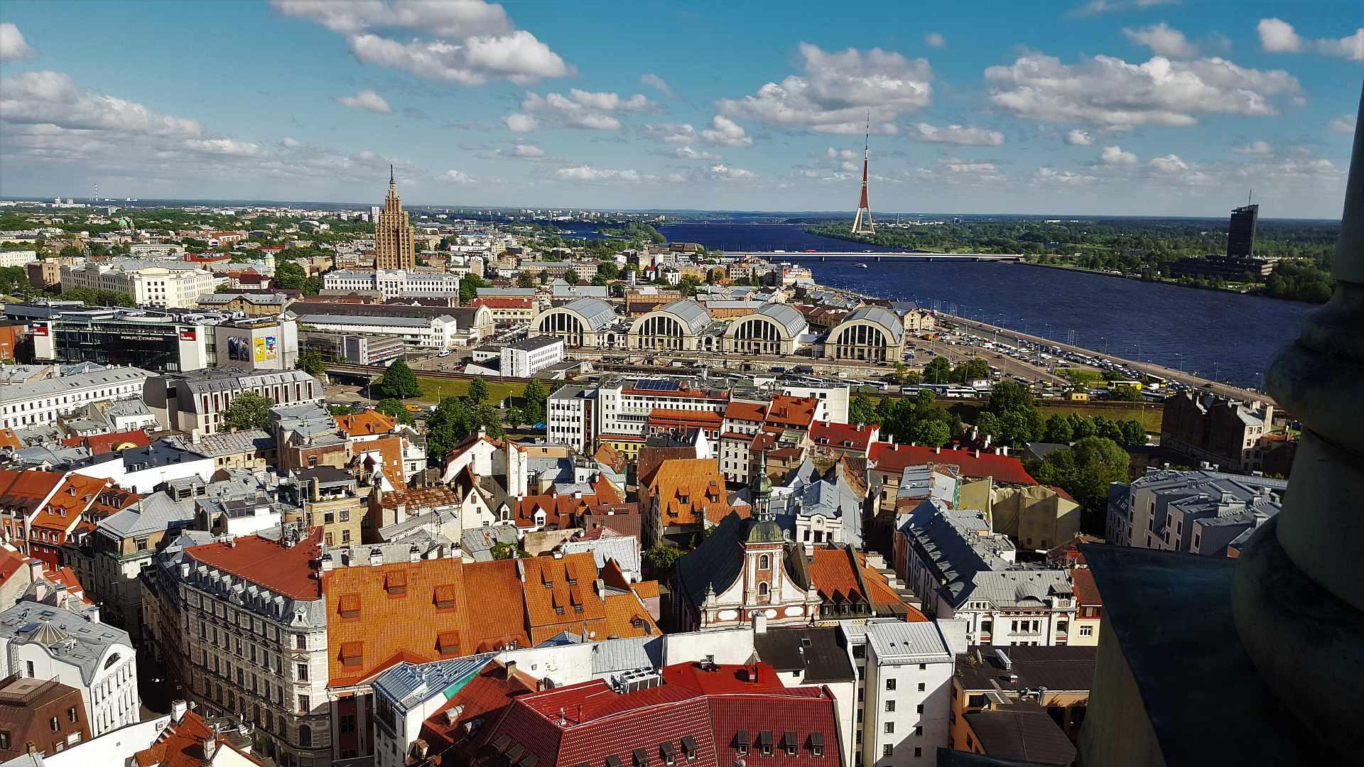 Viewpoint from Saint Peter's Church - Riga - trivo.ro (3)