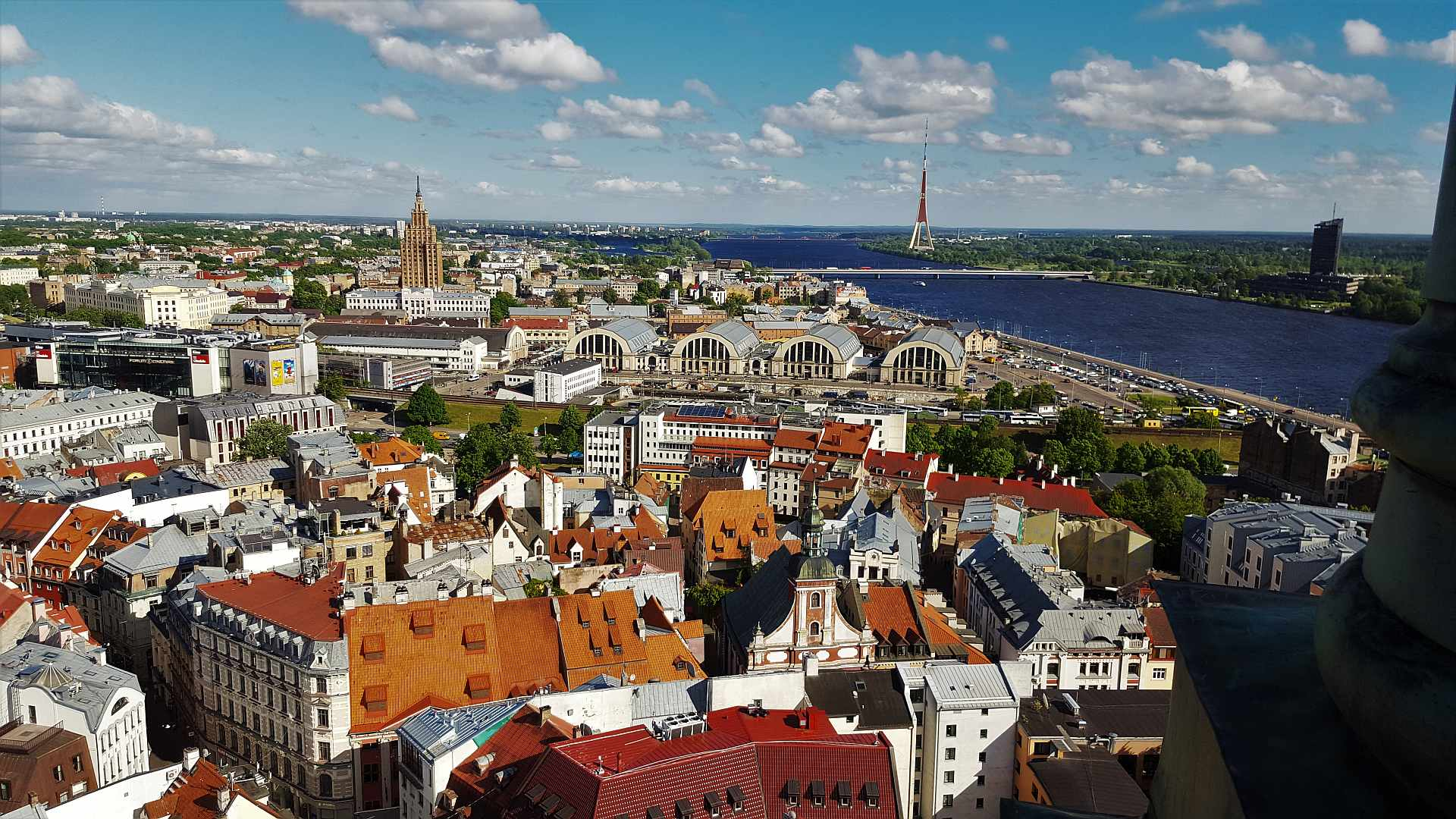 Viewpoint from Saint Peter's Church - Riga - trivo.ro (3)