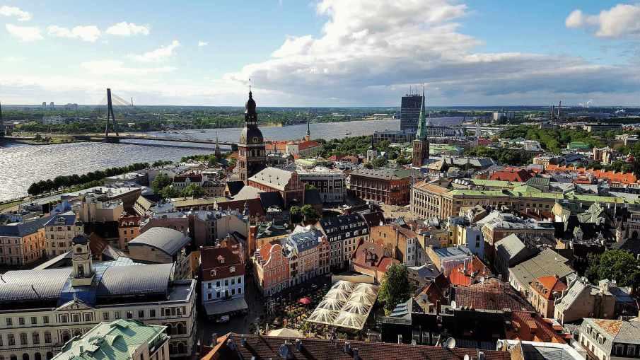 Viepoint from Saint Peter's Church - Riga - trivo.ro