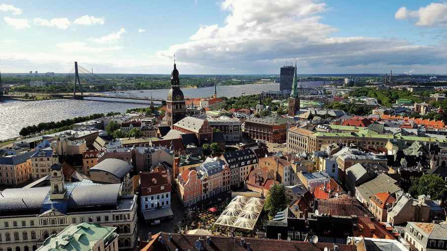 Viepoint from Saint Peter's Church - Riga - trivo.ro