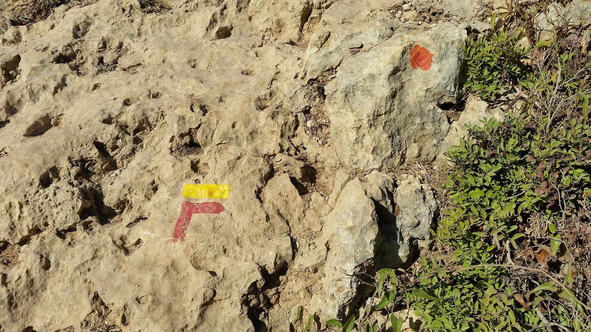 Lagao - Algarve - walking path signs