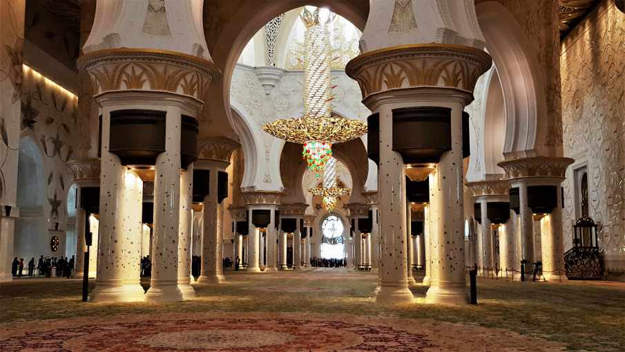 Sheikh Zayed Grand Mosque indoor
