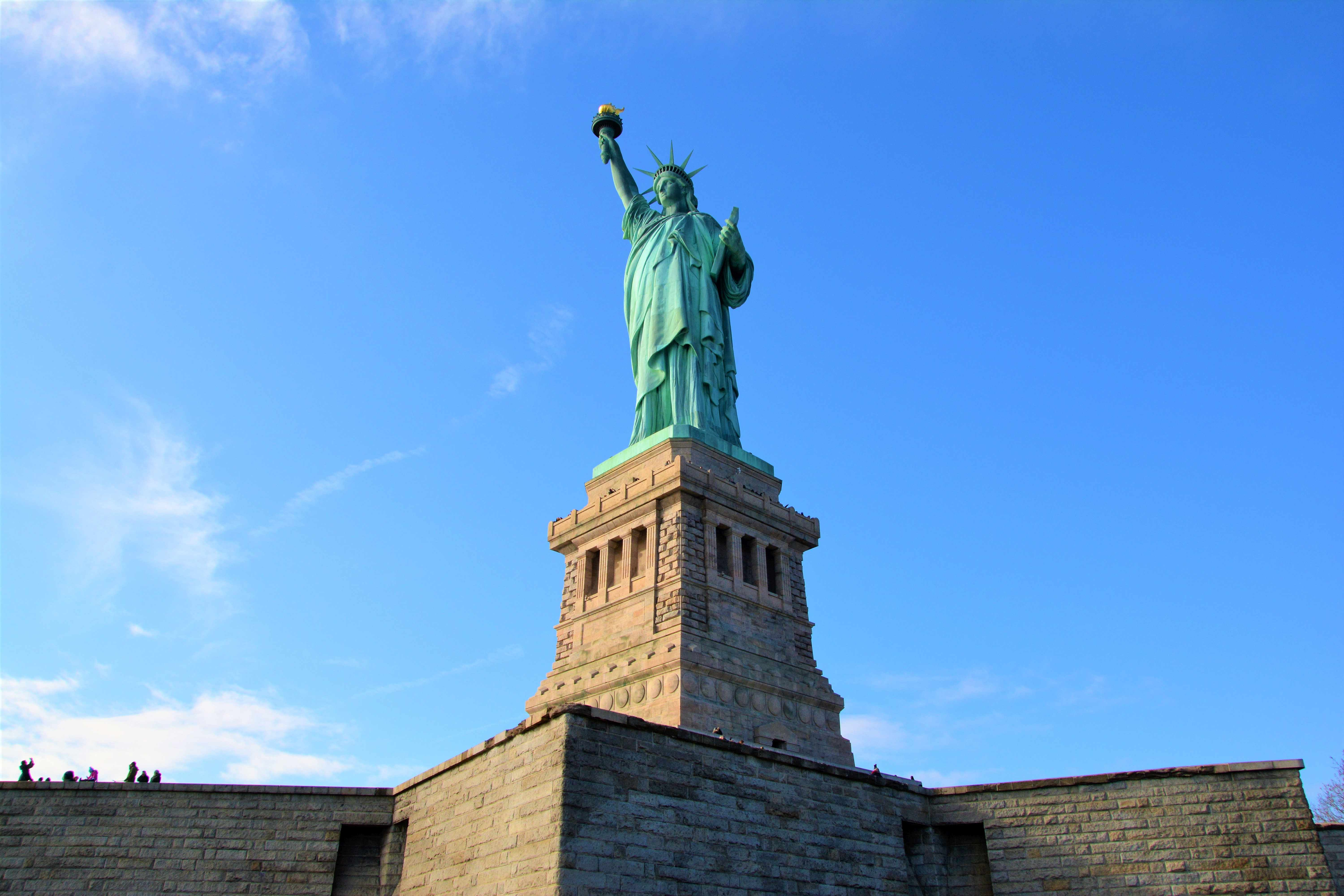 Statuia Libertatii - Plan de calatorie in New York