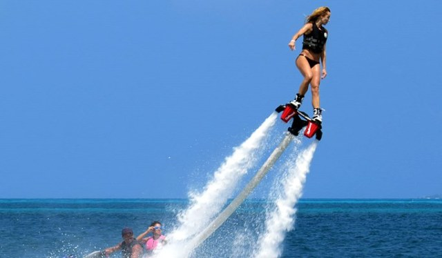 Kiteboarding and Flyboarding Best Winter Escape Destination