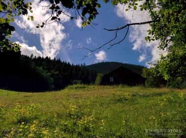 Switzerland-Mürren-Lauterbrunnen-Valley-Cabin