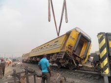 Lagos Train accident: NRC confirms one dead