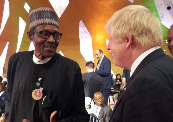 We are ready to work with you – President Buhari tells Boris Johnson