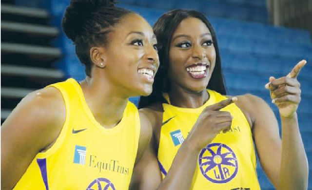 Ogwumike sisters relish Nigerian-American roots