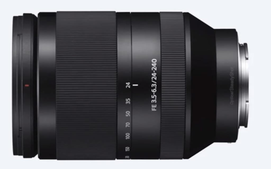 Sony 24-240 mm full frame zoom lens