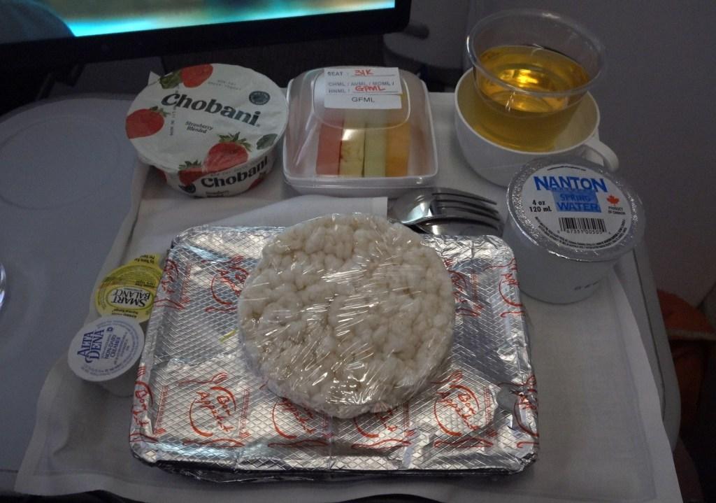 singapore airlines premium economy airbus a350 gluten free meal eggs