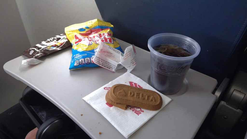 snack time inflight delta airlines