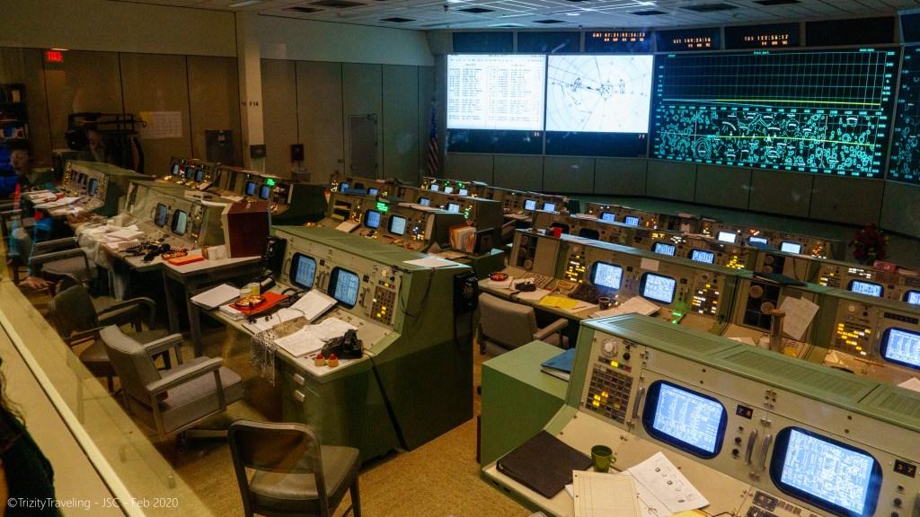 the apollo misson control center